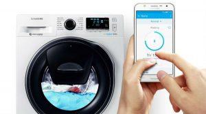 Machines à laver connectés